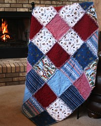 Après Ski Alpine Snuggler (Rag-Style) Kit - A Homespun Hearth Exclusive! <i>Includes Backing!</i>
