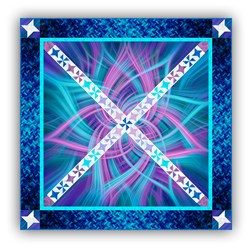 Exclusive Aurora Borealis Night Dance Panel Quilt Pattern Download