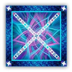Exclusive Aurora Borealis Night Dance Panel Quilt Pattern Download