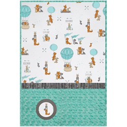 Be Brave  Baby Minky Cuddle Quilt Kit