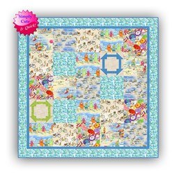 2020 Simply Cute & Quick  Beginner Kit #1Beachy Dayz Quilt Kit