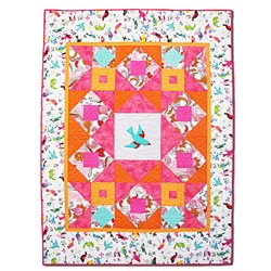 Tropical Sunset Flight Quilt Kit