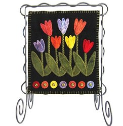Bitty Banner Wool Applique - May Kit