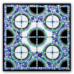 Black Beauty Paper Foundation Quilt - 2** Star