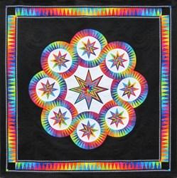 """Black Magic""  Paper Foundation Quilt Kit - *****5 Star"
