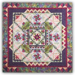 Botanica Park Batiks  King Sized Block of the Month or All at Once by Wing and a Prayer! - Starts October