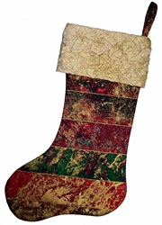 Fabric Magic Cuff Stocking By Cut Loose Press