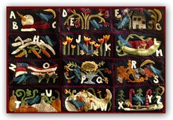 Celebrations Teensy Wool Applique<br> Block of the Month<br> or All at Once Quilt Kit <br>Start Anytime!