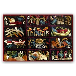 Celebrations Teensy Wool Applique Block of the Month or All at Once Quilt Kit Start Anytime!
