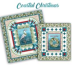 Pre-Order & Save $45.30!  Coastal Christmas Combo Quilt Kit