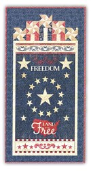 Colors of Freedom Door Banner Quilt Kit