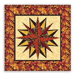 National Marooned Without a Compass - Homespun Hearth to the Rescue Wallhanging Pattern Download