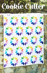 Back in Stock!    Cookie Cutter Lap Quilt Kit by Jaybird Designs<br>