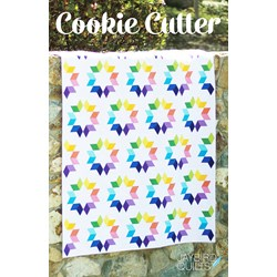 Back in Stock!    Cookie Cutter Lap Quilt Kit by Jaybird Designs