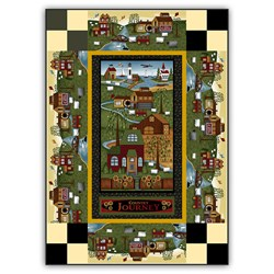 New!  Exclusive Country Journey Spring Quilt Kit - a Whizzy Weekend Whip Up!