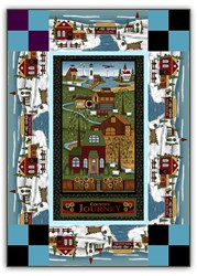 New!  Exclusive Country Journey - Winter Quilt Kit - a Whizzy Weekend Whip Up!