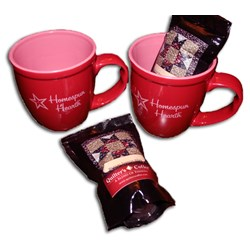 Exclusive Homespun Hearth 20oz Coffee Mug