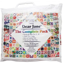 More Back in Stock!  Dear Jane Complete Paper Pieces Pack <br><i>Free US Shipping!</i>