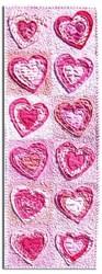 Vintage Find!  A Dozen Hearts Runner / Banner Pattern