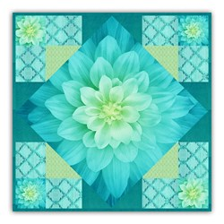 New!  Exclusive On-Point Dream Big TidePool Minky Quilt Kit - Includes Backing!