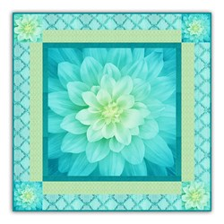 New!  Exclusive Dream Big TidePool Minky Quilt Kit - Includes Backing!