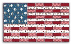 Election Day - Flag Snuggler Pattern Download