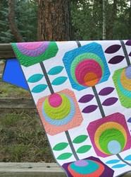 Last One!  Flower Power Quilt Kit