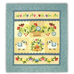 Flowers for Ewe COTTON Quilt Kit