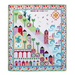 Homespun Hearth's Exclusive - Fun on the Mediterranean!  Pattern Download or Print Version