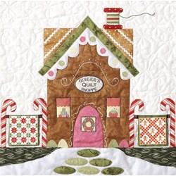 Orphan Block #3 - Gingerbread Village Quilt Kit
