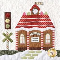 Orphan Block #5 - Gingerbread Village Quilt Kit