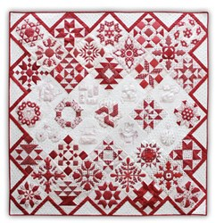 Back in Stock!   In the Good Old Days Redwork Block of the Month or All at Once- Starts January!