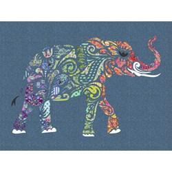 Holi Ganesha Pre-Fused/Laser Cut Fabric Starter Kit