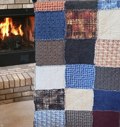 The Colorado Haberdashery Quilt Snuggler  - A Homespun Hearth Exclusive! <i>Includes Backing!</i>