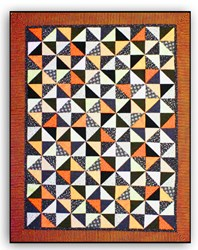 Halloween Swirl Quilt Pattern Download