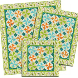 Happier than Happy 3 Size Quilt Pattern Download
