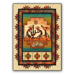 Happy Dance Quilt Kit WITH Backing by Jean Boyd for Northcott Fabrics