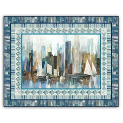 New!  Exclusive Harbor Delight Wall Hanging/Quilt Kit!