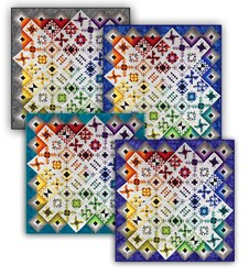 Heritage Square <br>Block of the Month<br>or  All at Once Quilt Kit - Starts July!