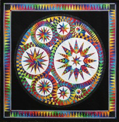 Infinity Batik Paper Foundation Quilt Kit - ******6 Star <br><i>Free US Shipping!</i>