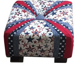 """Deluxe 18"""" Square Tuffet Kit <br>"""