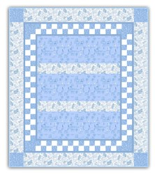 Sail Away to LaLa Land - Blue Quilt Kit