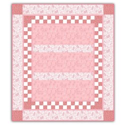 Sail Away to LaLa Land - Pink Quilt Kit