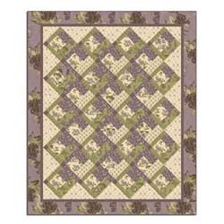 Garden Gate on Lilac Hill Quilt Pattern Download
