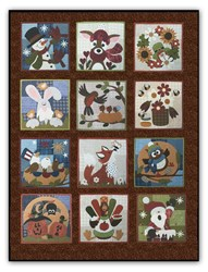 Little Quilts Squared - Quilt Series - Flannel BOM