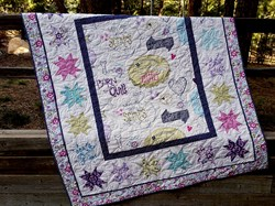 Love Laugh Quilt Kit
