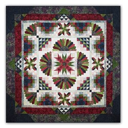 More Back in Stock!  Tonga Lush Batik King Sized Quilt Kit