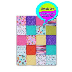 Simply Sew - Young New Quilter My Favorite Mermaid Quilt Kit