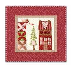 Mistletoe Lane Complete Wall Hanging/Table Mat Kit - Orphan Block #10
