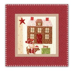 Mistletoe Lane Complete Wall Hanging/Table Mat Kit - Orphan Block #7